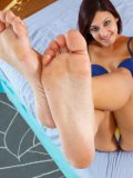 You will love Simone Lopez's feet as soon as she shows them off for the camera.