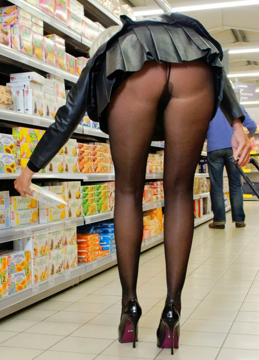 Good Milf pantyhose mini skirts amusing