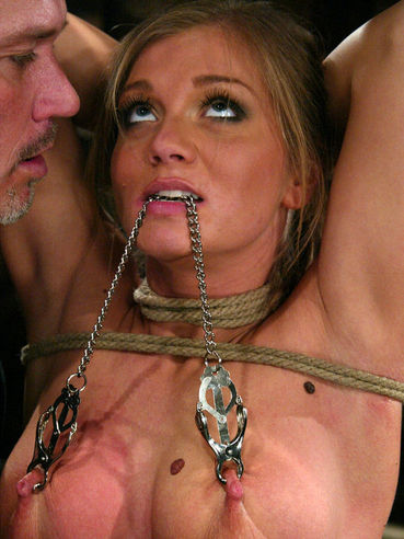 Sexy bodied slave girl Rita Faltoyano gets fucked and punished at once by Mark Davis