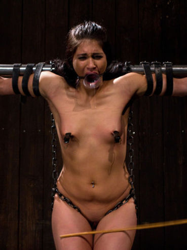 Fiat chested big ass latina slave Jade Indica gets punished in the dark of the dungeon