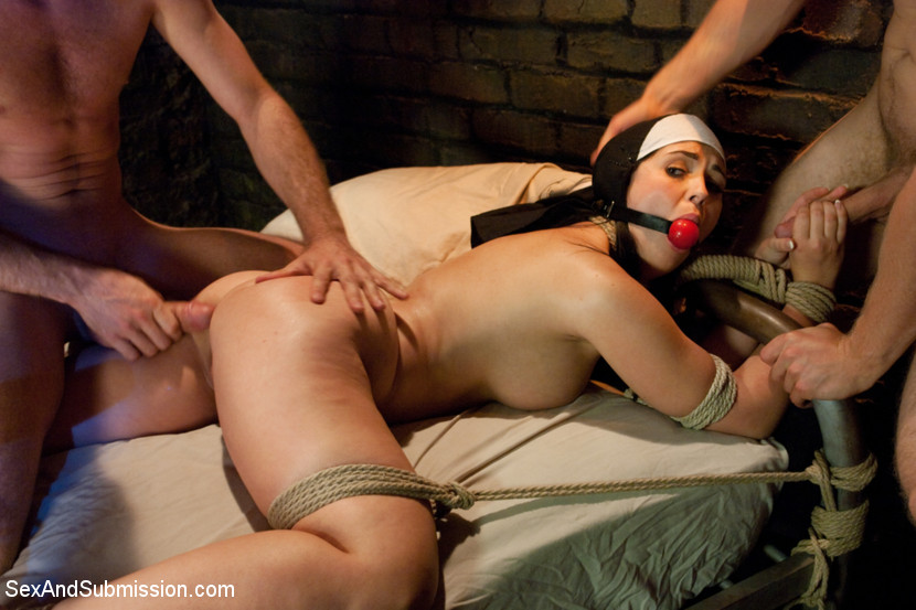 IN  BONDAGE BY  THE NUN !