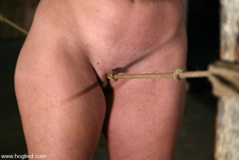 Bondage tips rope