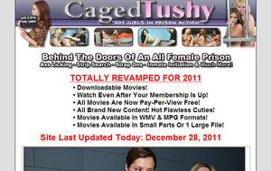 Caged Tushy