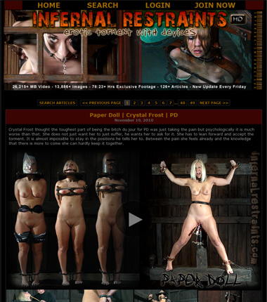 Infernal Restraints review